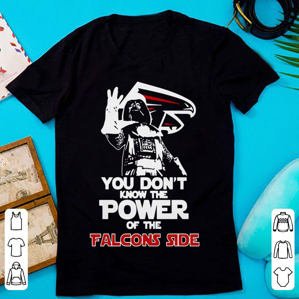 You Don't Know The Power Of The Falcons Side Darth Vader shirt