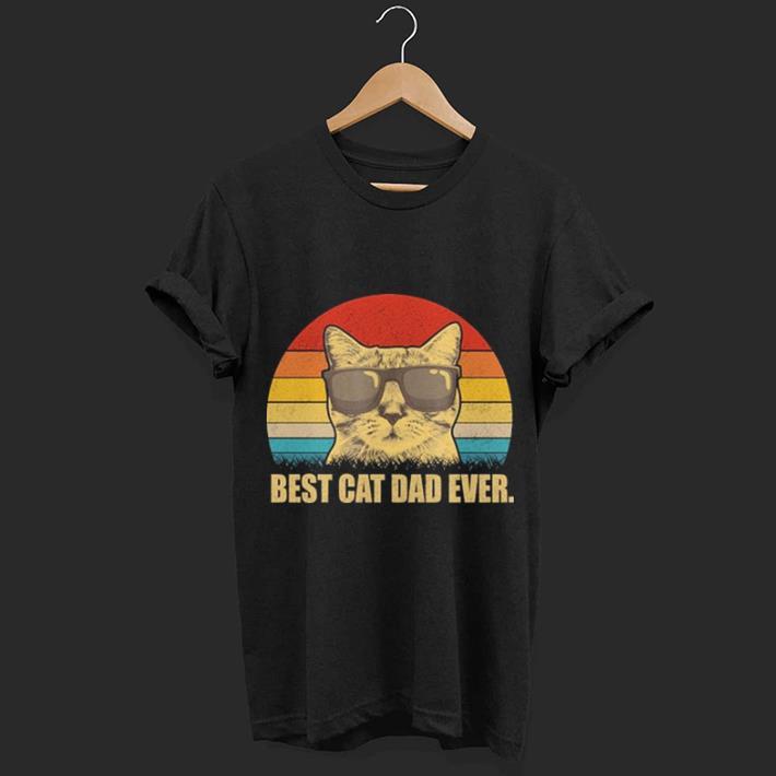 Best price Vintage Best cat dad ever shirt