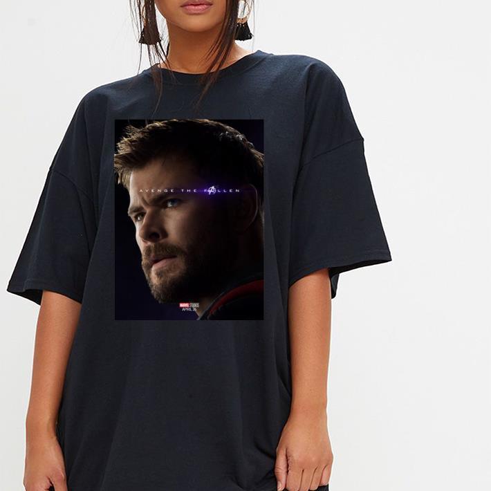 Marvel Avengers Endgame Thor Avenge the fallen shirt