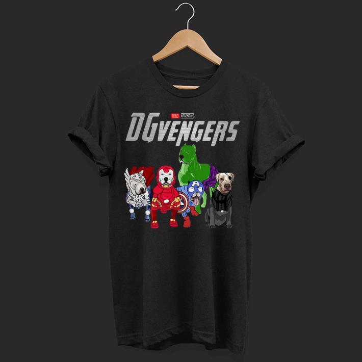 Marvel Dogo Argentino DGvengers Avengers Endgame shirt