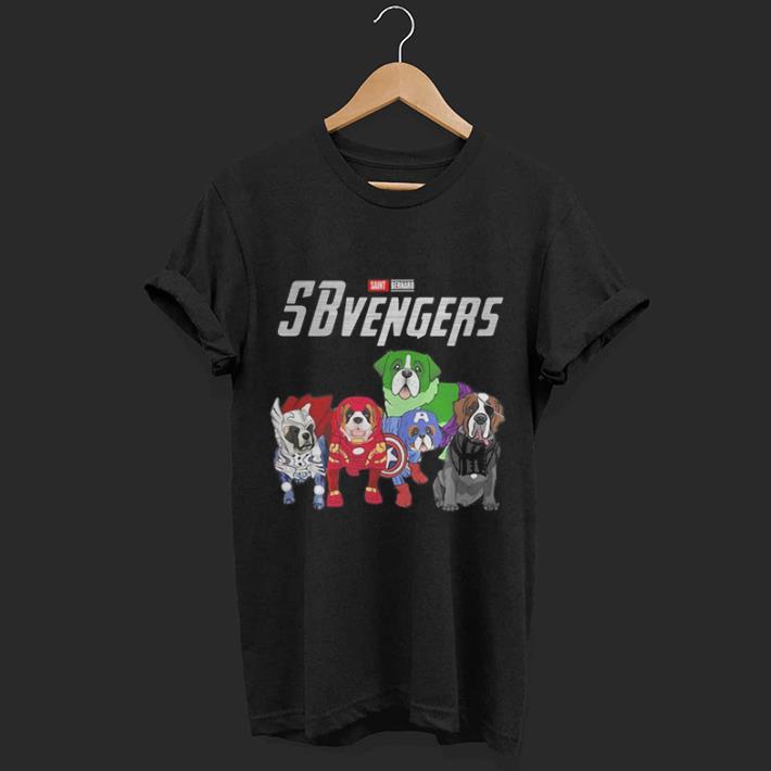 Marvel Sbvengers Avengers Endgame Saint Bernard shirt