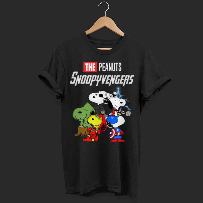 Marvel The Peanuts Snoopyvengers Avengers Endgame shirt