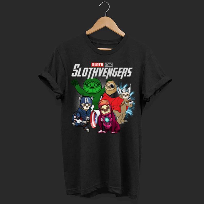 Slothvengers Marvel Avengers Endgame Sloth shirt