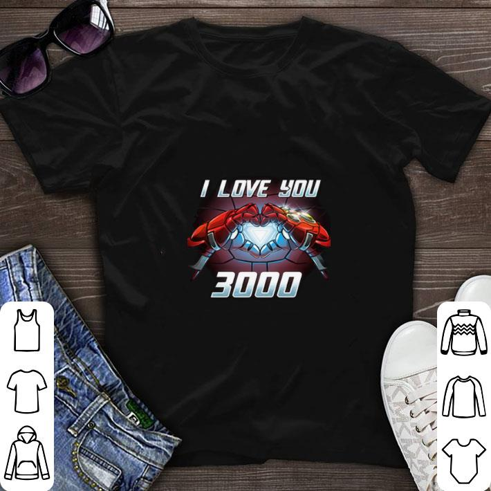 Awesome Iron Man I Love You 3000 shirt