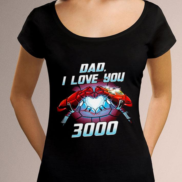 b2975eb5 Awesome Iron Man dad i love you 3000 Avengers Endgame shirt, hoodie ...