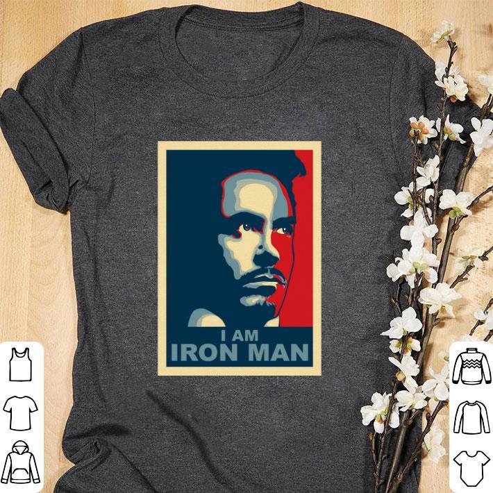 Awesome Tony Stark I am Iron Man vintage shirt