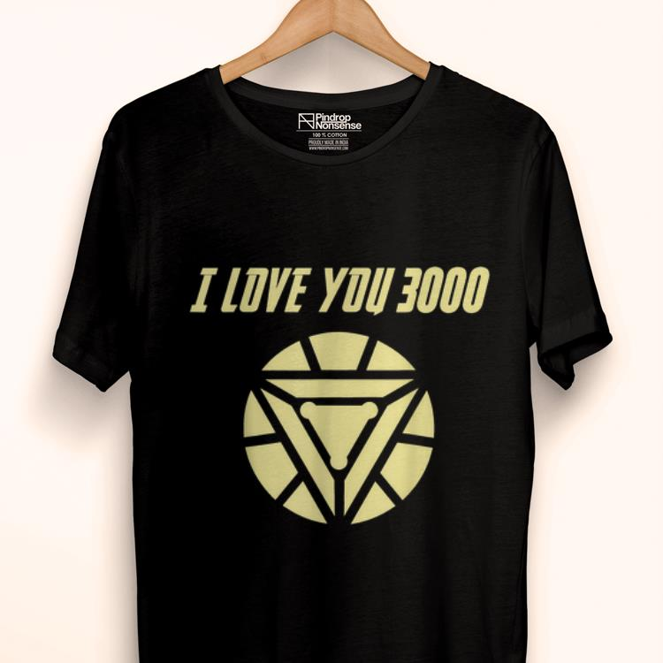 Daughter and Dad I love you 3000 Arc Reactor End game shirt