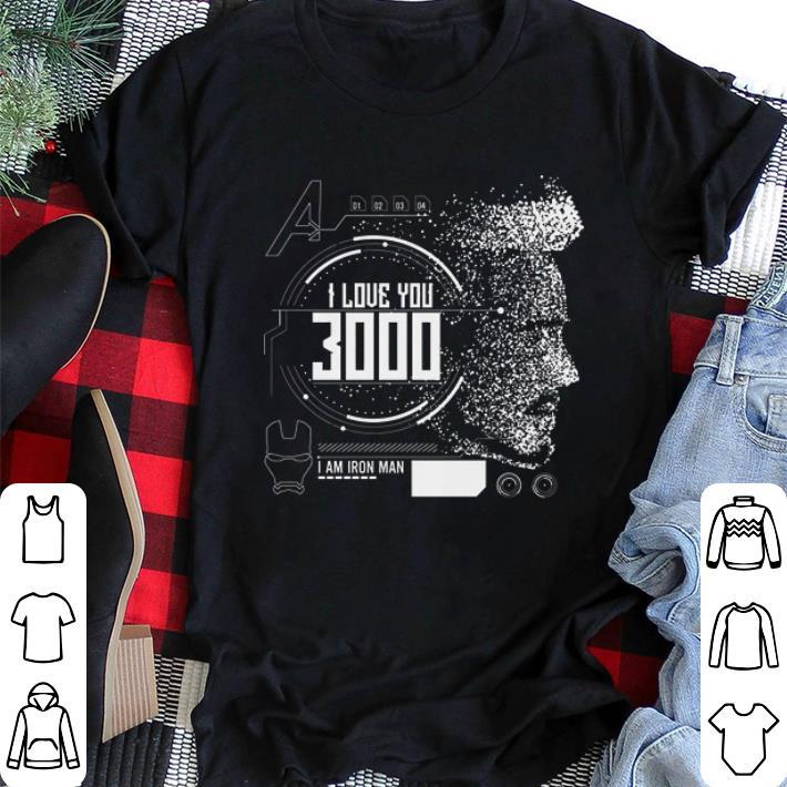 0eff78f8e Nice I love you 3000 I am Iron man Marvel shirt, hoodie, sweater ...