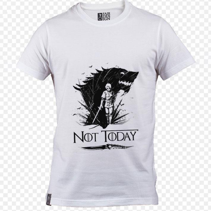 Original Arya Stark Catspaw Blade GOT Not today Game Of Thrones shirt