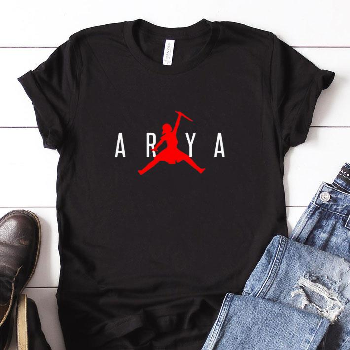 Original Arya Stark Jumpman Game of Thrones shirt