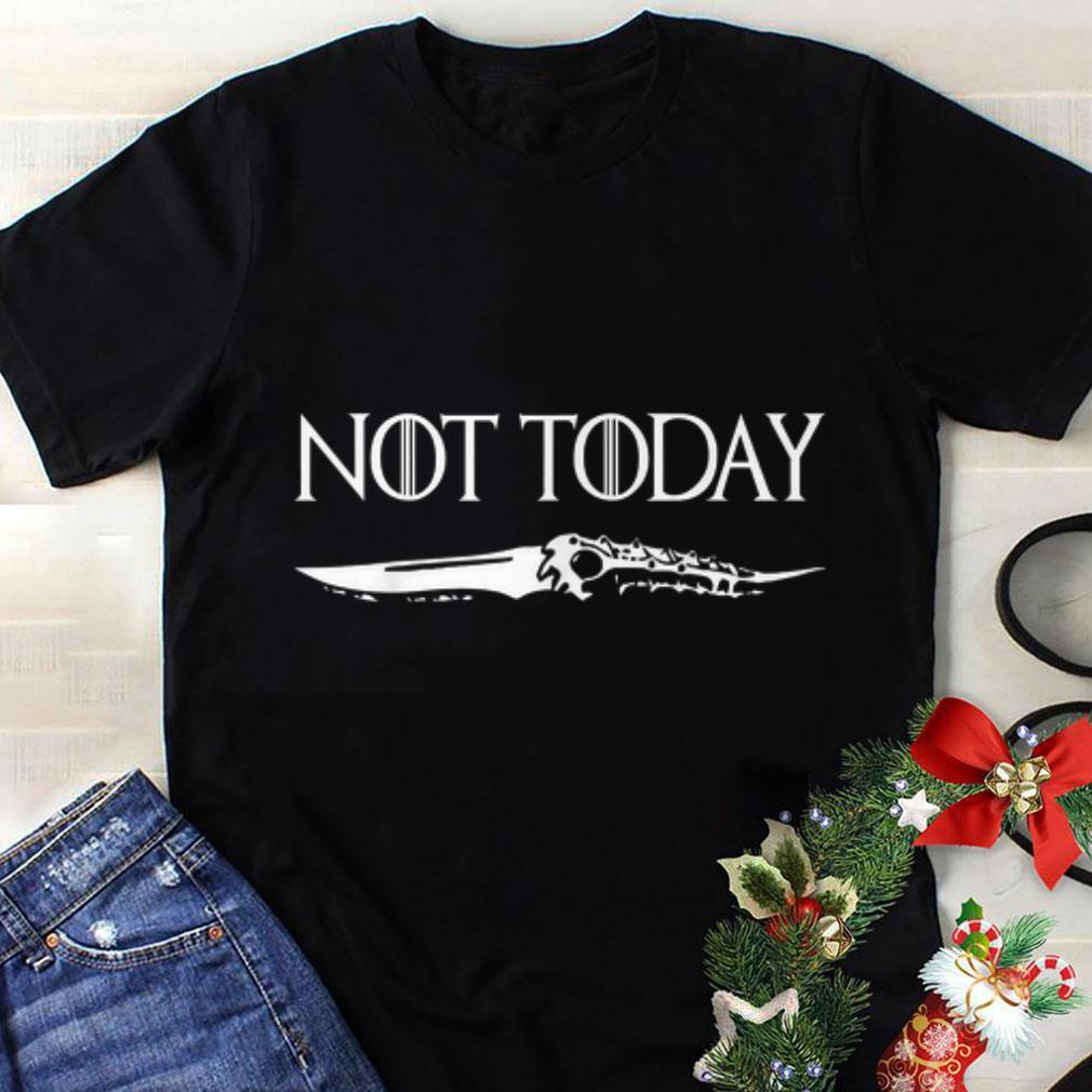 Premium Arya Stark Catspaw Blade Not Today Gam Of Throne shirt