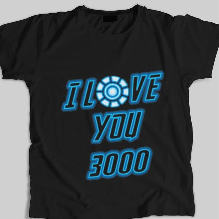 Premium I Love You 3000 Tony Stark Avengers Endgame Iron Man shirt