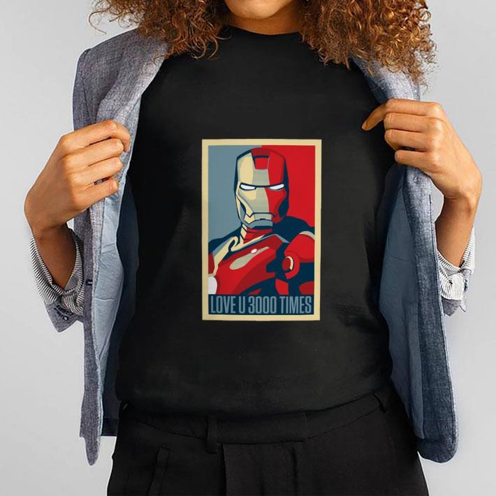 Premium I am Iron Man I love You 3000 times shirt