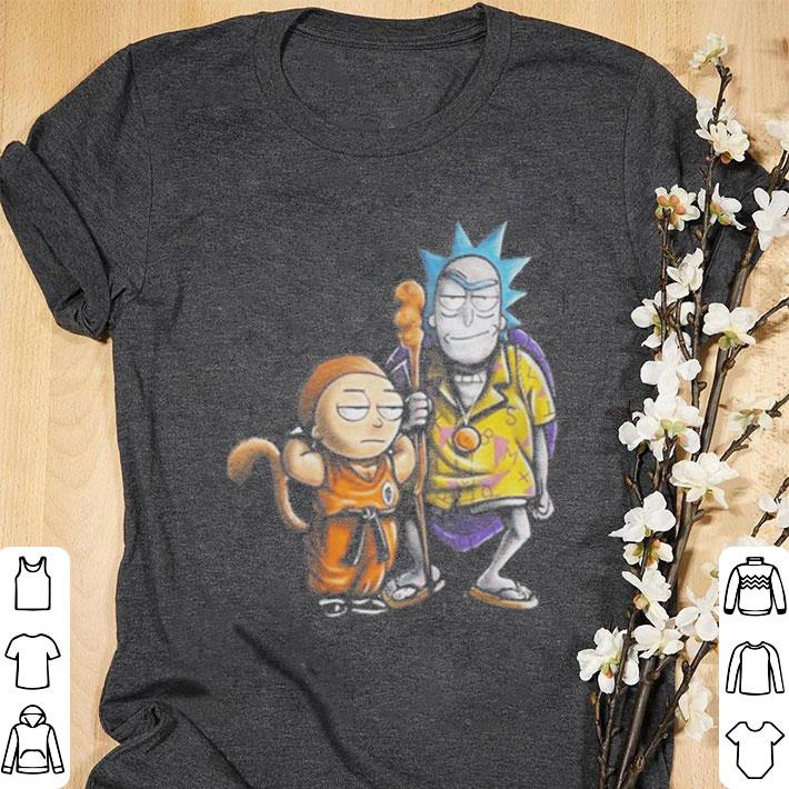 9486d787 Premium Rick and Morty Dragon Ball Z shirt, hoodie, sweater ...