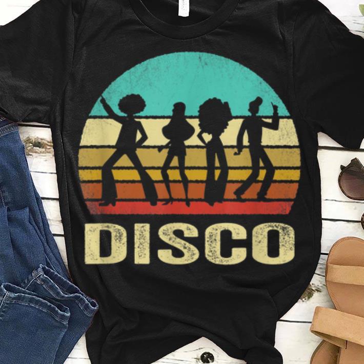 Premium Vintage Disco Sunset Shirt