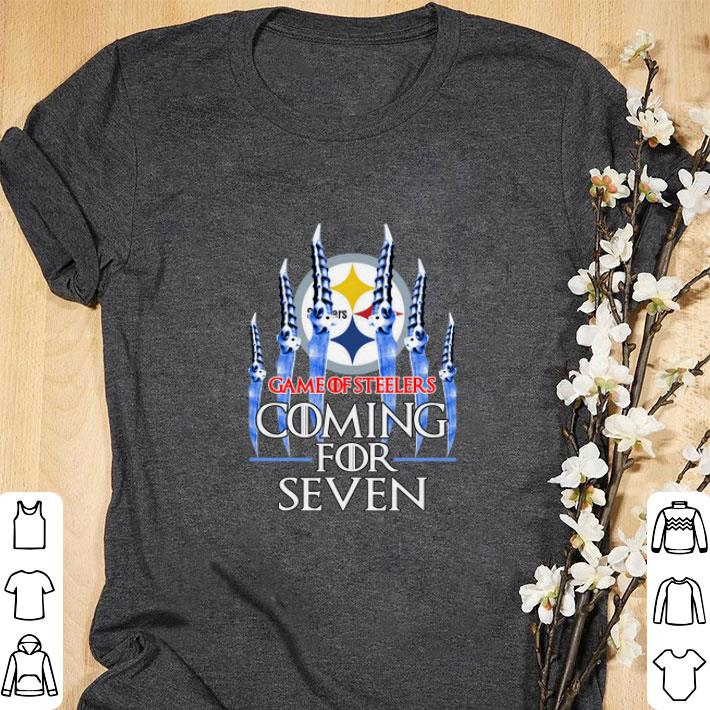 Top Game Of Steelers Coming for seven Game of Thrones shirt