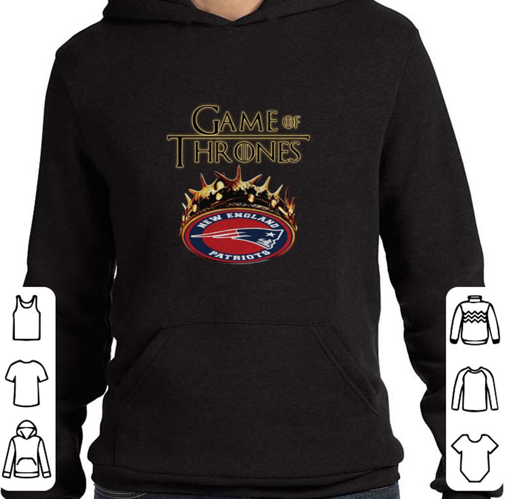 Top Game Of Thrones Crown New England Patriots shirt