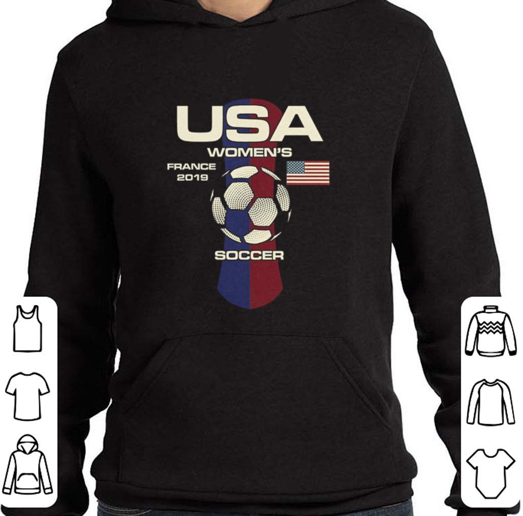 fc526ab379f Top USA women s France 2019 Soccer shirt