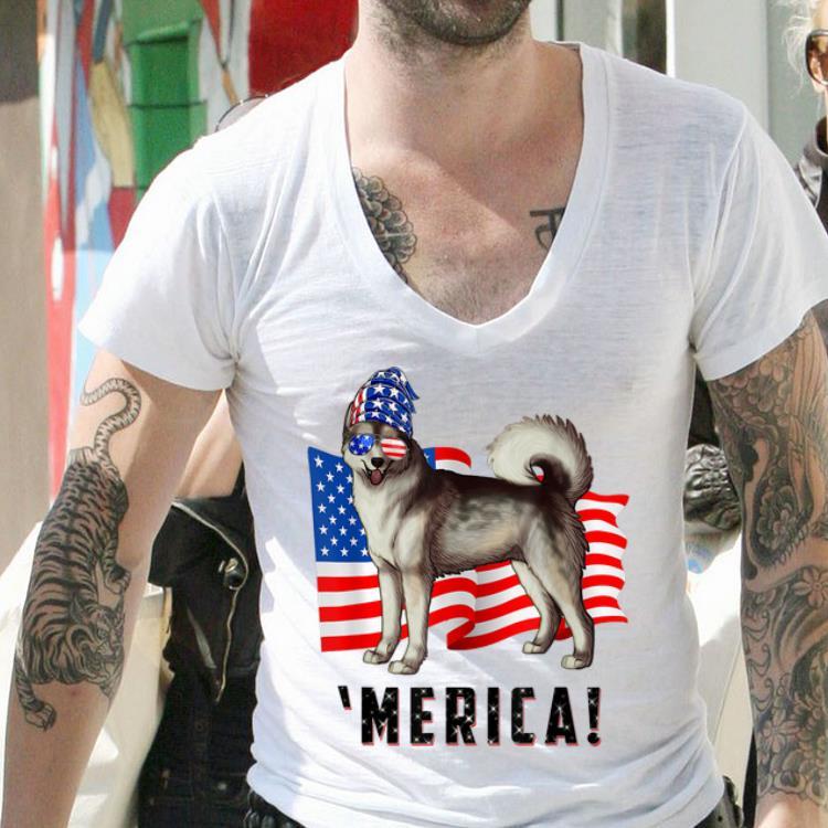 4th Of July Alaskan Malamute Dog Merica Tee Shirt 2 1.jpg