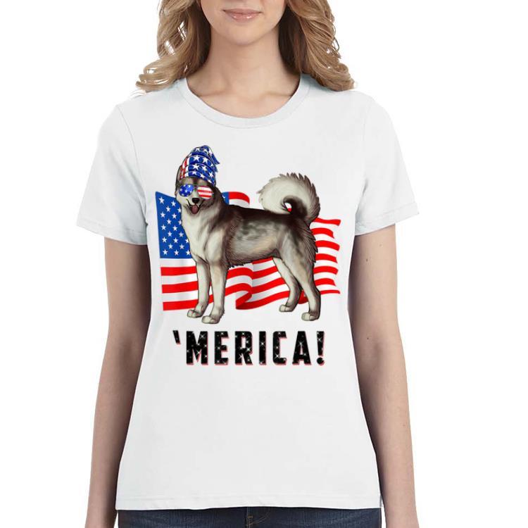 4th Of July Alaskan Malamute Dog Merica Tee Shirt 3 1.jpg
