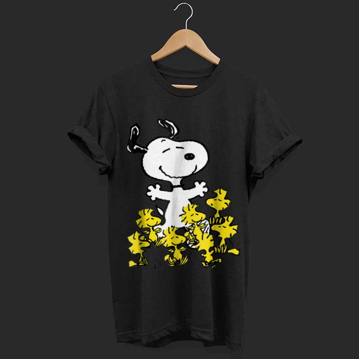 cce7f249 Awesome Peanuts Snoopy chick party shirt, hoodie, sweater ...