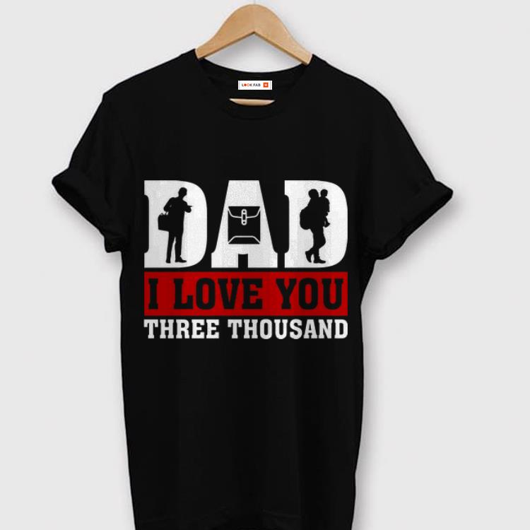 I Love You Dad 3000 Postal Worker Father Day shirt