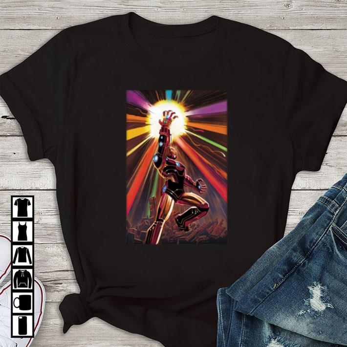 Nice Endgame Iron Man Infinity Gauntlet shirt