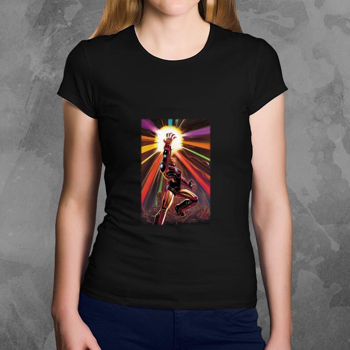 Nice Endgame Iron Man Infinity Gauntlet shirt
