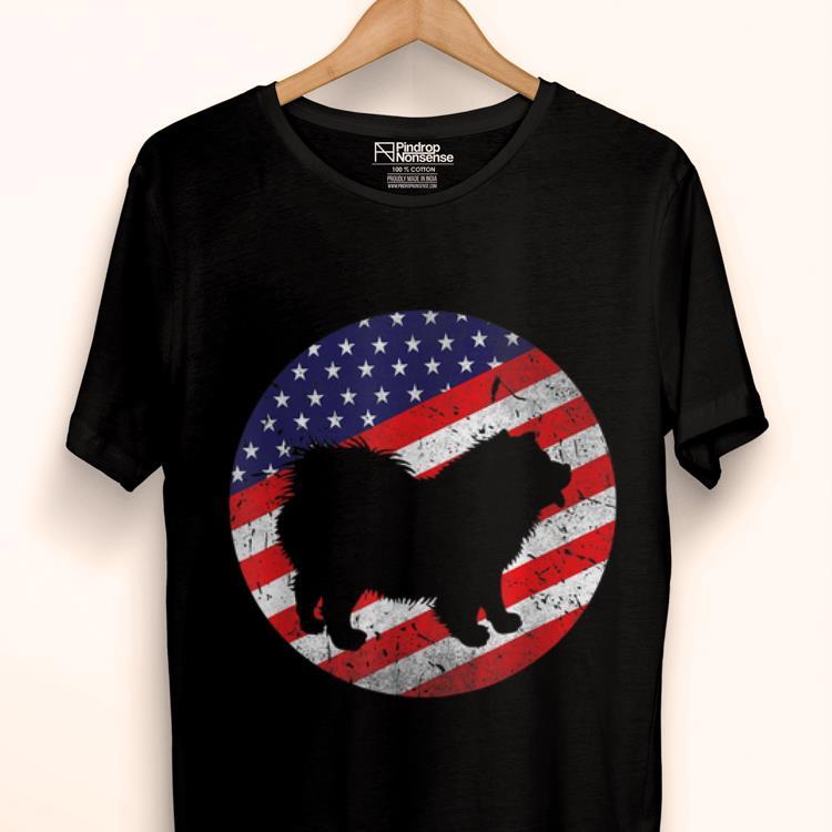 Original 4th Of July Chow Chow Dog Usa American Flag Patriotic Gift shirt