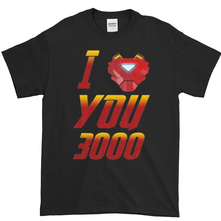 Original I love you 3000 Avengers Endgame Iron Man Tony Stark shirt