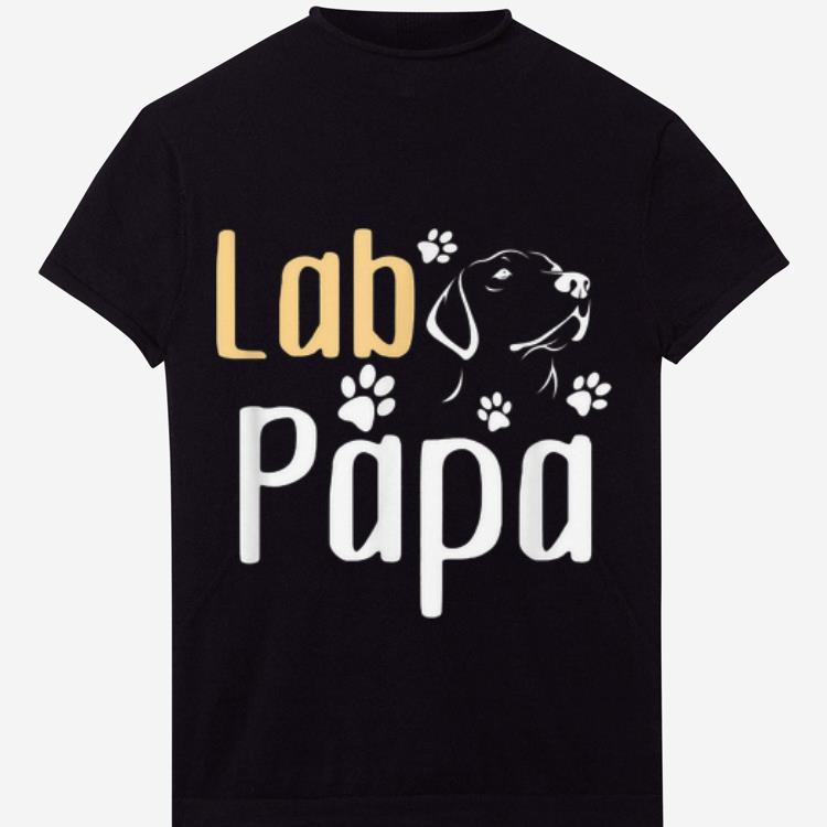 Papa Labrador Retriever Father Day shirt
