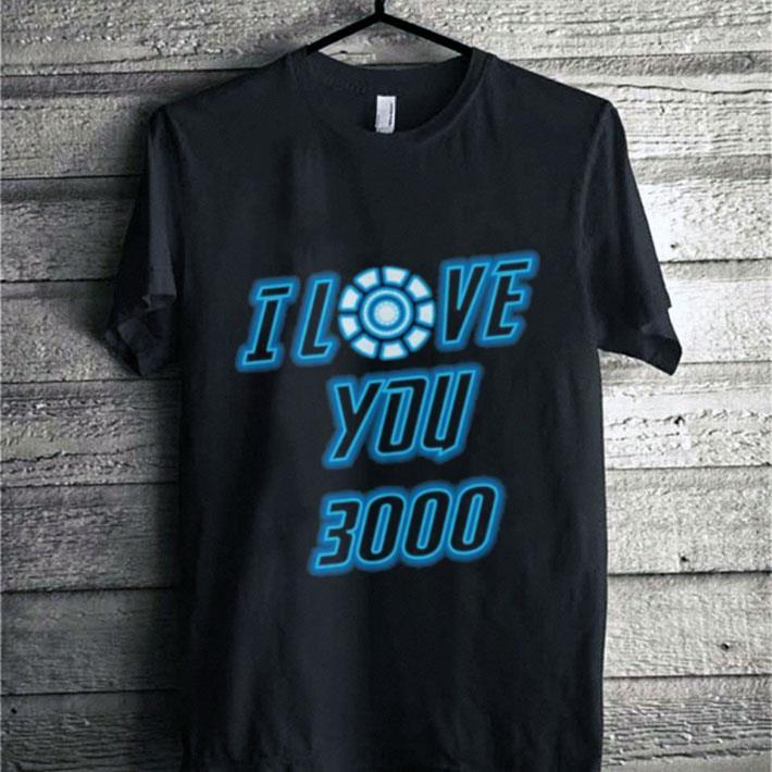 Pretty I Love You 3000 Tony Stark Avengers Endgame Iron Man shirt