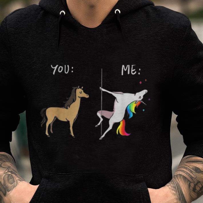 Pretty Unicorn LGBT Horse Gay Funny Pride shirt
