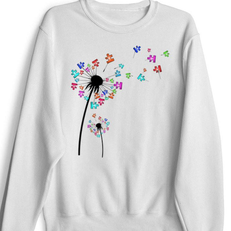 Awesome Dandelion Flowers Family Autism Awareness shirt