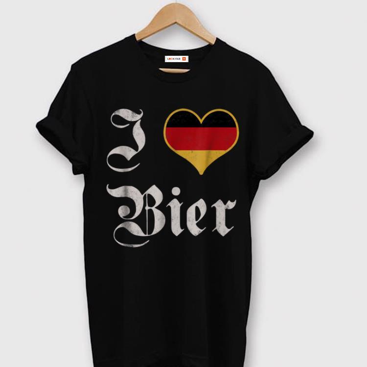 Hot I Love German Beer Oktoberfest 2018 Munich shirt