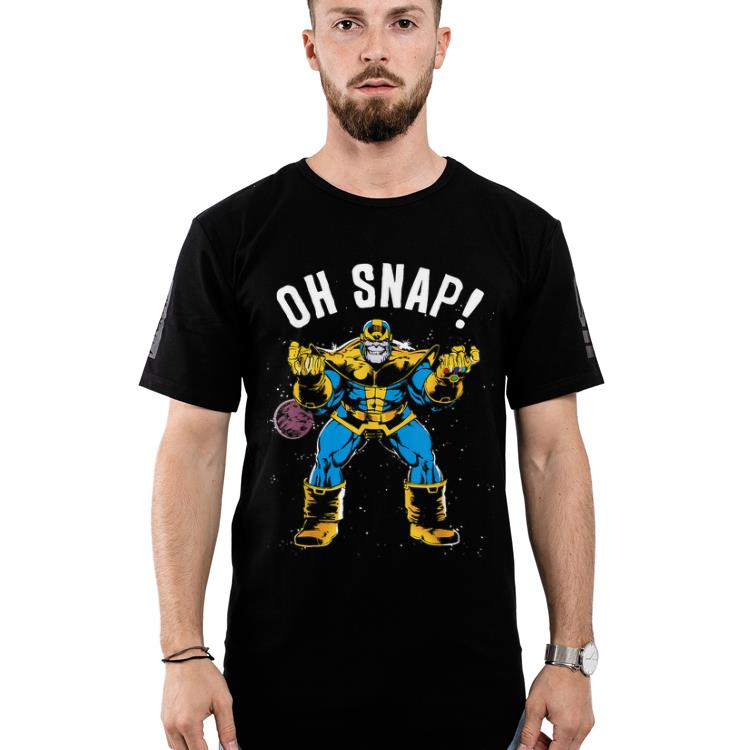 Hot Marvel Thanos Space Oh Snap! Retro Comic Style shirt