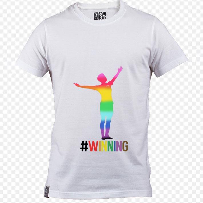 Nice LGBT Megan Rapinoe Winning USA women's soccer shirt