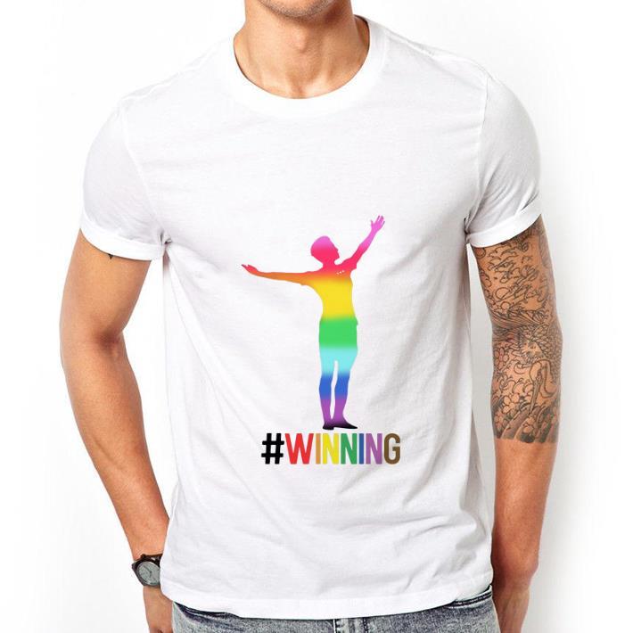 sale retailer fc6db dfd70 Nice LGBT Megan Rapinoe Winning USA women's soccer shirt