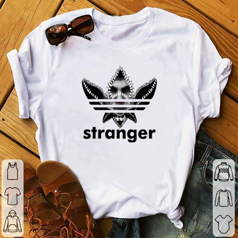 Original Adidas Stranger Things Eleven Face shirt