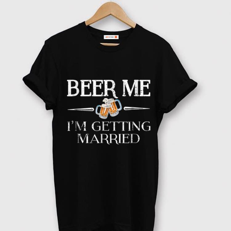 Original Beer Me I'm Getting Married Emoji shirt