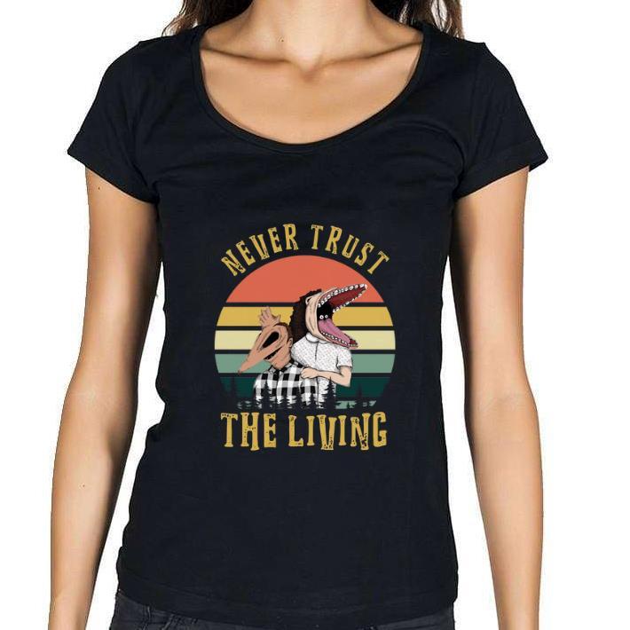 Original Beetlejuice Never trust the living vintage shirt