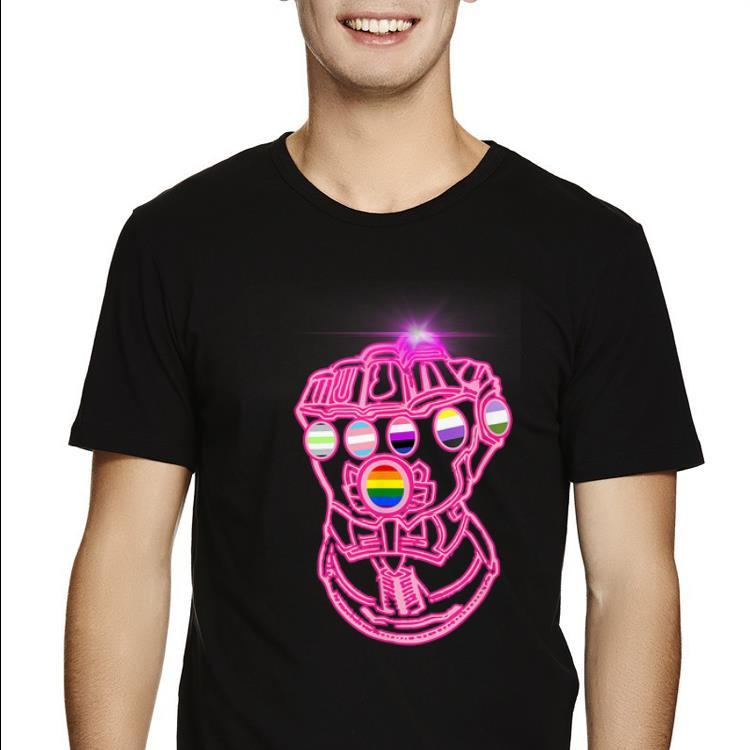 Original LGBT Inclusivity Gauntlet Popular LBGT shirt