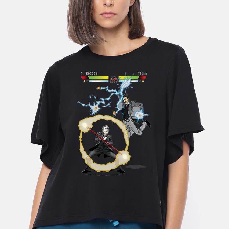 Original Stooble Men's Edison vs Tesla The Current War shirt