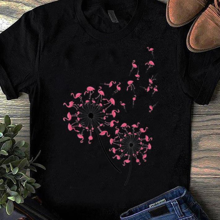 Premium Flamingo Dandelion Flower Woman, Flamingo Dandelion shirt