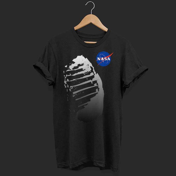 Premium Moon Boot Print Vintage NASA Approved Apollo 11 50th shirt