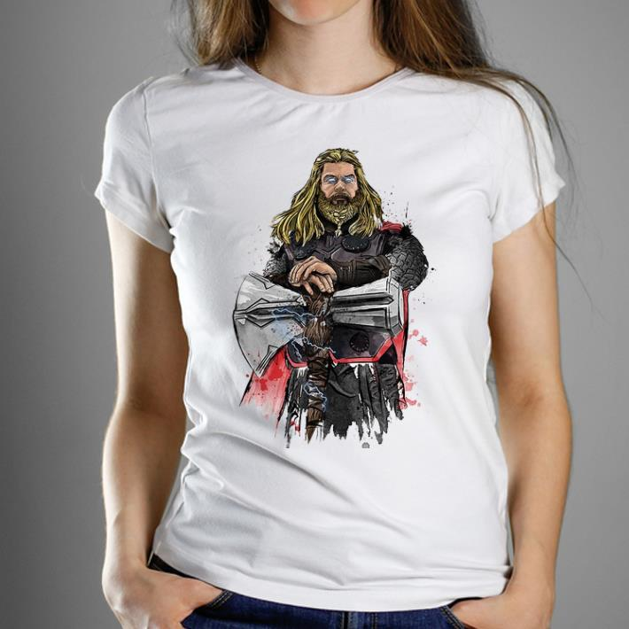 Pretty God Of Thunder Thor With Stormbreaker shirt