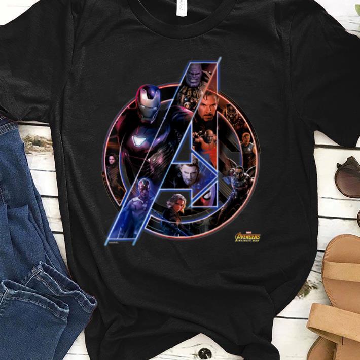 Pretty Marvel Avengers Infinity War Neon Team Graphic Iron Man Captian Thor shirt