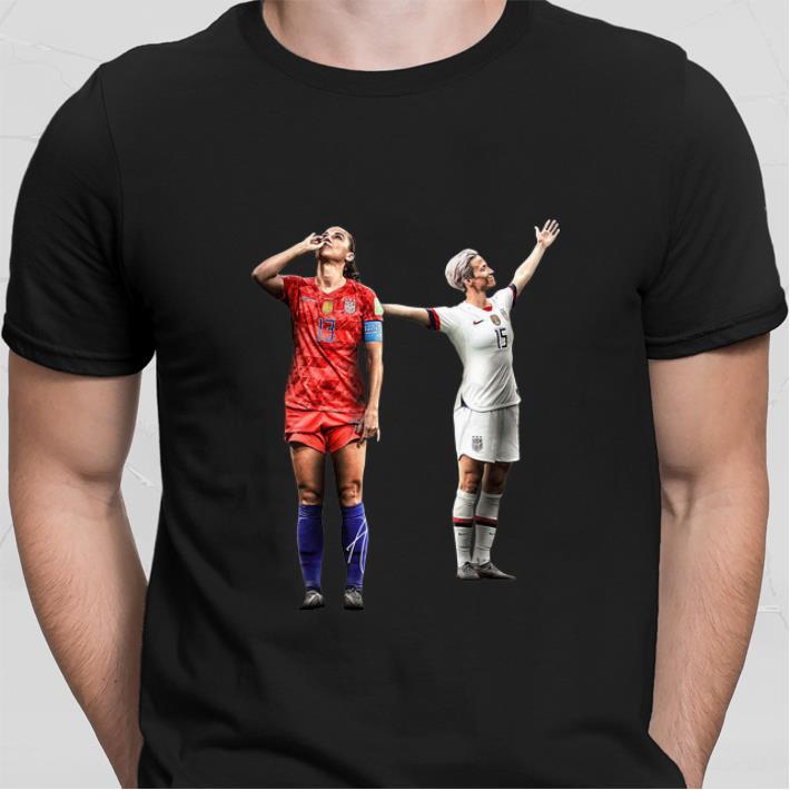 half off f1797 ef551 Top Alex Morgan and Megan Rapinoe women's soccer shirt