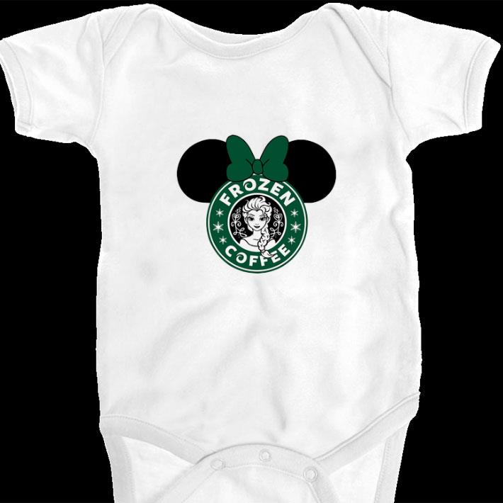 Top Disney Minnie Mouse Starbuck Frozen Coffee shirt