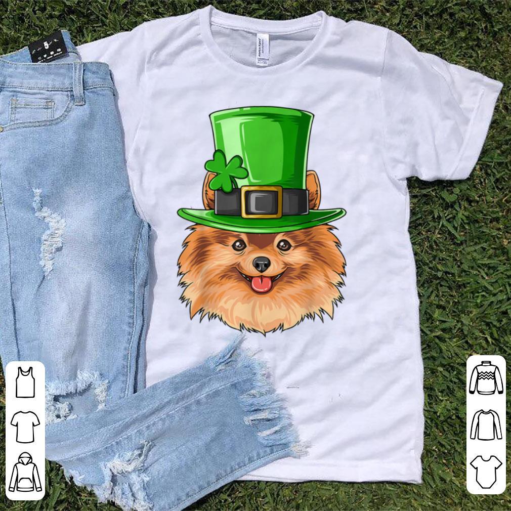 Top Pomeranian St Patricks Day Irish Leprechaun Pomeranian Shirt 1 1.jpg